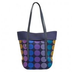Built NY City Tote - Plum Dot