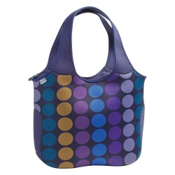 Built NY Essential Tote - Plum Dot