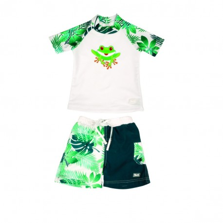 Banz 2pc Swimsuit - Frog