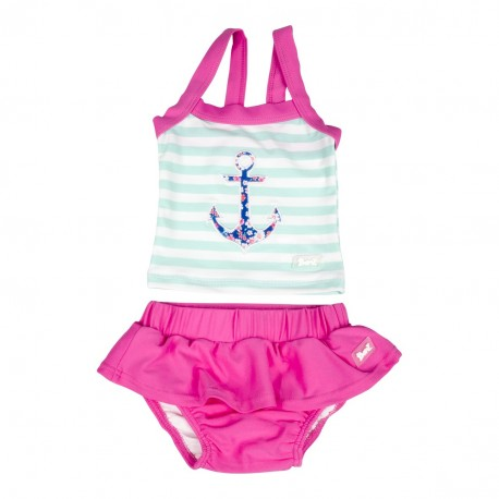 Banz 2pc Tank Swimsuit - Anchor