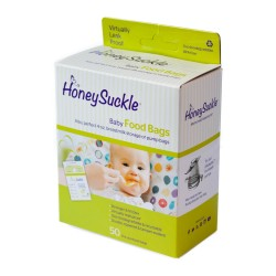 HoneySuckle Baby Food Bags - 25pcs