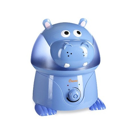 Crane Cool Mist Humidifier - Violet the Hippo