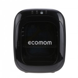 EcoMom Dual UV Sterilizer and Dryer with Anion - Black