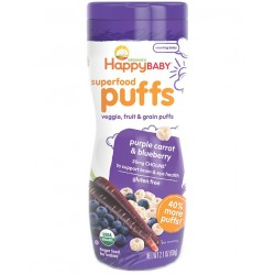 Happy Puffs - Purple Carrot & Blueberry