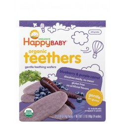 Organic Teethers - Blueberry & Purple Carrot