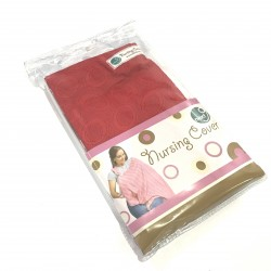 Next9 Nursing Covers - Red Circles
