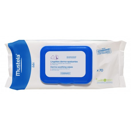 Dermo-Soothing Wipes (Fragrance Free) x70