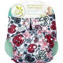 Baby Leaf One-Size Pocket Cloth Diaper - Paisley