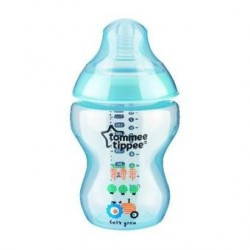 Tommee Tippee Closer to Nature Tinted Bottle 9oz./260ml Blue