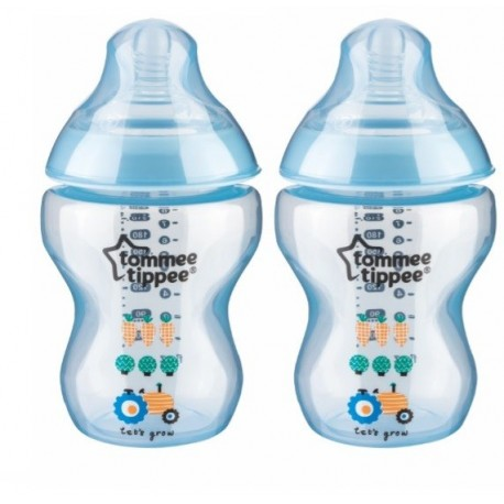Tommee Tippee Closer to Nature Twin Pack Blue