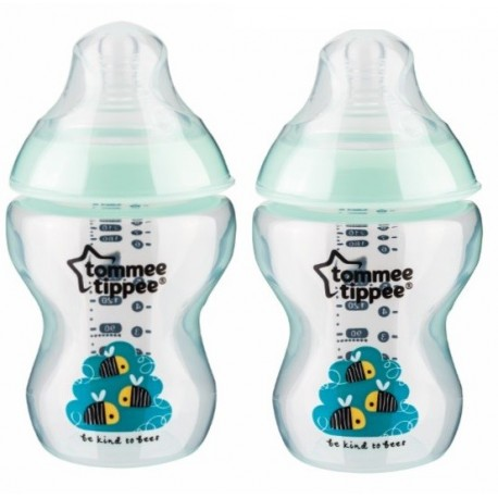 Tommee Tippee Closer to Nature Twin Pack Green