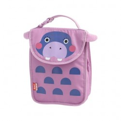 BUILT NY Big Apple Buddies Lunch Sack - Hester Hippo