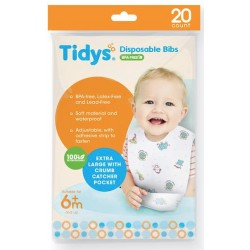 TIDYS DISPOSABLE BIBS
