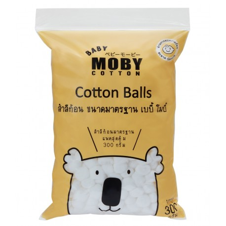 Baby Moby Standard Cotton Balls - 300 grams