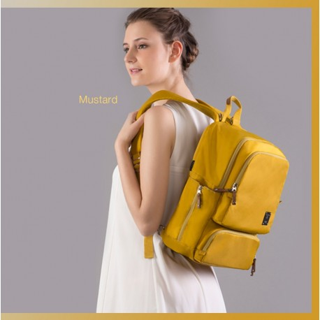 BeBear Bennett Diaper Backpack - Mustard