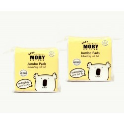 Baby Moby Jumbo Cotton Pads - Set of 2
