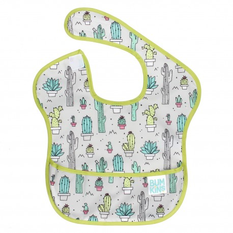Bumkins Super Bib 1pc - Cacti