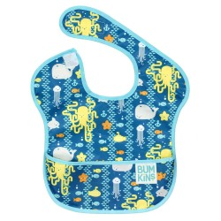 Bumkins Super Bib 1pc - Sea Friends