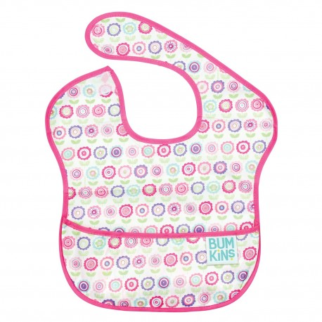Bumkins Super Bib 1pc - Bloom