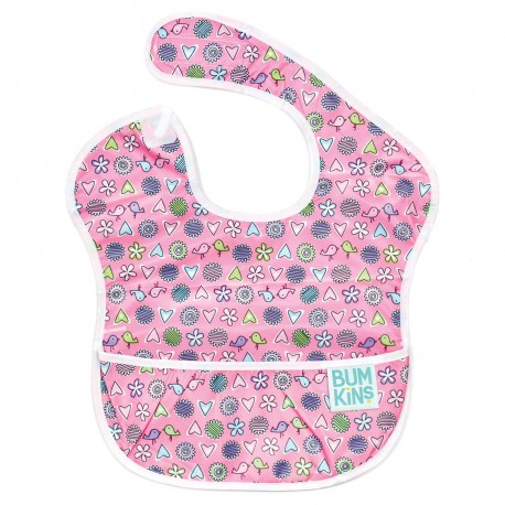 Bumkins Super Bib 1pc - Love Birds