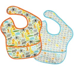 Bumkins Super Bib 2pc - Petit Collage