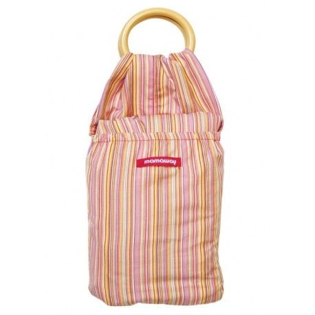 Mamaway Pink Mille Feullile Baby Ring Sling