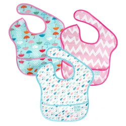 Bumkins Super Bib 3pc Set - Umbrella