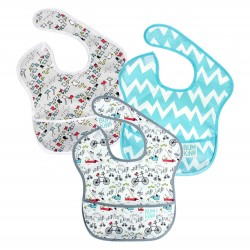 Bumkins Super Bib 3pc Set - City Life