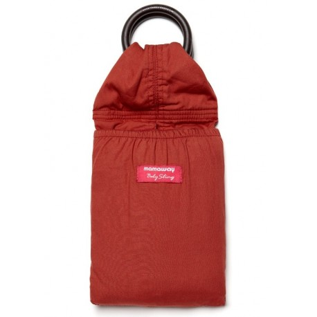 Mamaway Red Ochre Baby Ring Sling