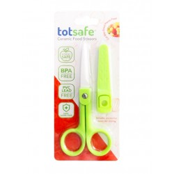 TotSafe Ceramic Food Scissors