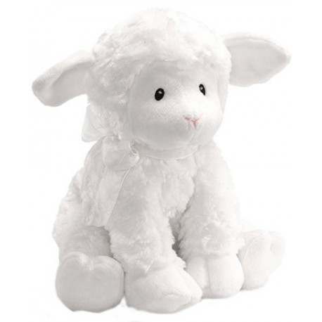 Gund Lena Lamb Musical - Jesus Loves Me
