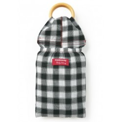 Mamaway Gingham Chunky Baby Ring Sling