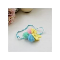 Celestina and Co. Wool Pompoms & Bow