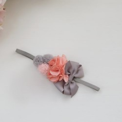 Celestina and Co. Rio & Pompoms Headband on Soft Skinny