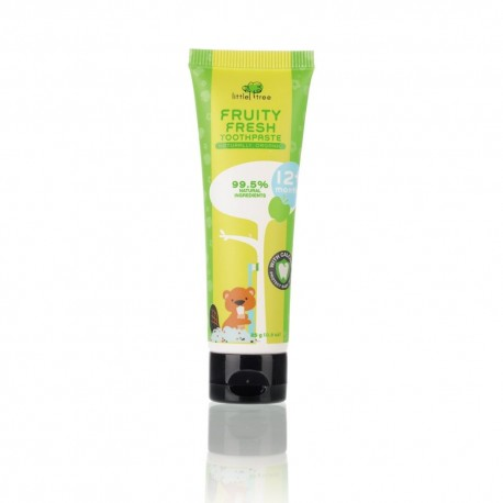 Little Tree Fruity Fresh Toothpaste 12+ months