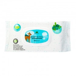 Little Tree Baby Wipes (For Mouth & Hands)