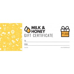 Milk & Honey Gift Certificate - P1,000.00