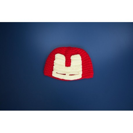 COTTON CANDY BEANIE - IRON MAN