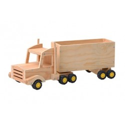 Red Tool Box Semi-Trailer Kit