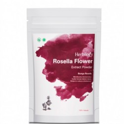 Herbilogy Hibiscus Rosella Extract Powder