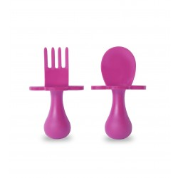 GrabEase Self-Feeding Utensil Set