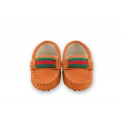 Oscar's Milan Loafers - Orange