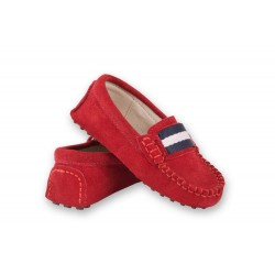 Oscar's Milan Loafers - Red
