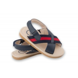 Oscar's Milan Sandals - Navy