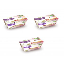 Byba Fruit Selection 4x130G (Pack of 3)