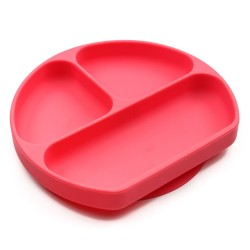 Bumkins Grip Dish - Red