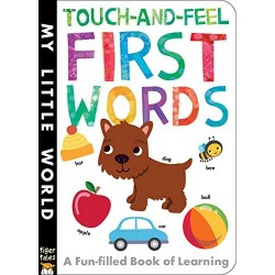 Touch-and-feel First Words (My Little World) Board book