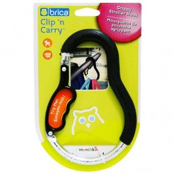 Brica Clip 'n Carry, Gripper Stroller Hook