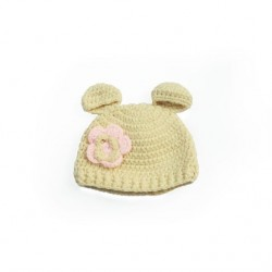 Cotton Candy Knitwear Teddy Beanie (16cm x 16cm)