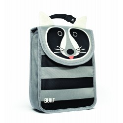 BUILT NY Big Apple Buddies Lunch Sack - Racoon